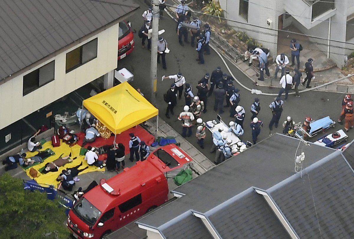 Un empleado que sobrevivió al incendio en KyoAni cuenta su experiencia
