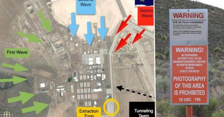 800,000 personas planean atacar el Area 51 corriendo como Naruto