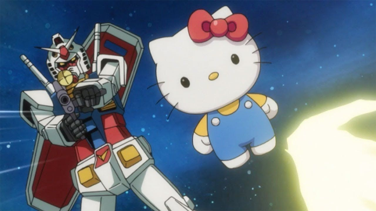Nuevo PV de Gundam vs Hello Kitty: El crossover definitivo