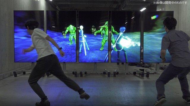 La exposición por los 10 años de Sword Art Online permite a los aficionados luchar contra duendes mediante captura de movimiento