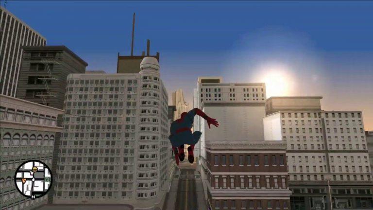 Un modder ha pasado 4 años trabajando en un mod para llevar a Spider-Man a la ciudad de GTA San Andreas