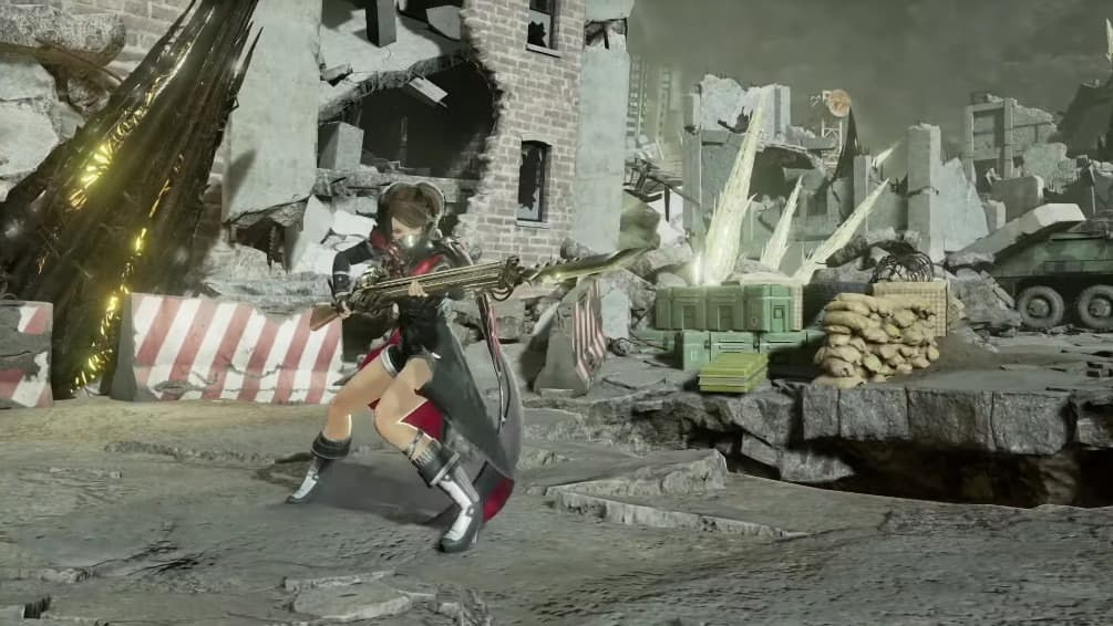 Nuevo trailer de Code Vein enfocado en la bayoneta