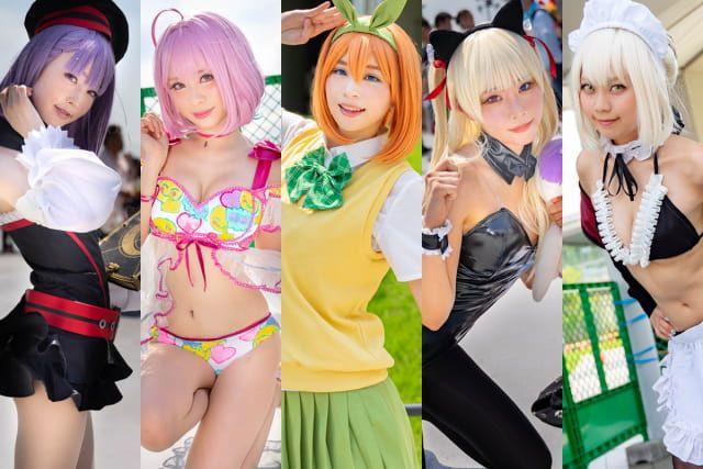 Las mejores cosplayers japonesas del Día 2 del Comiket de Verano 2019