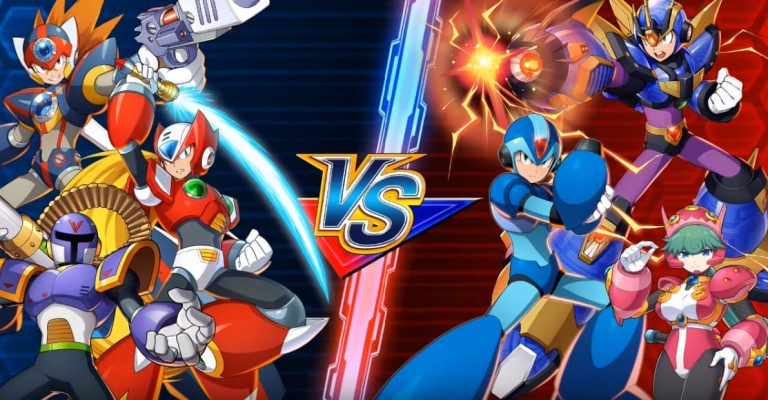 Gameplay de Mega Man X DiVE mostrando su modo Co-Op y PvP