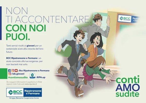Un banco italiano utiliza a los personajes de Boku no hero Academia en su publicidad