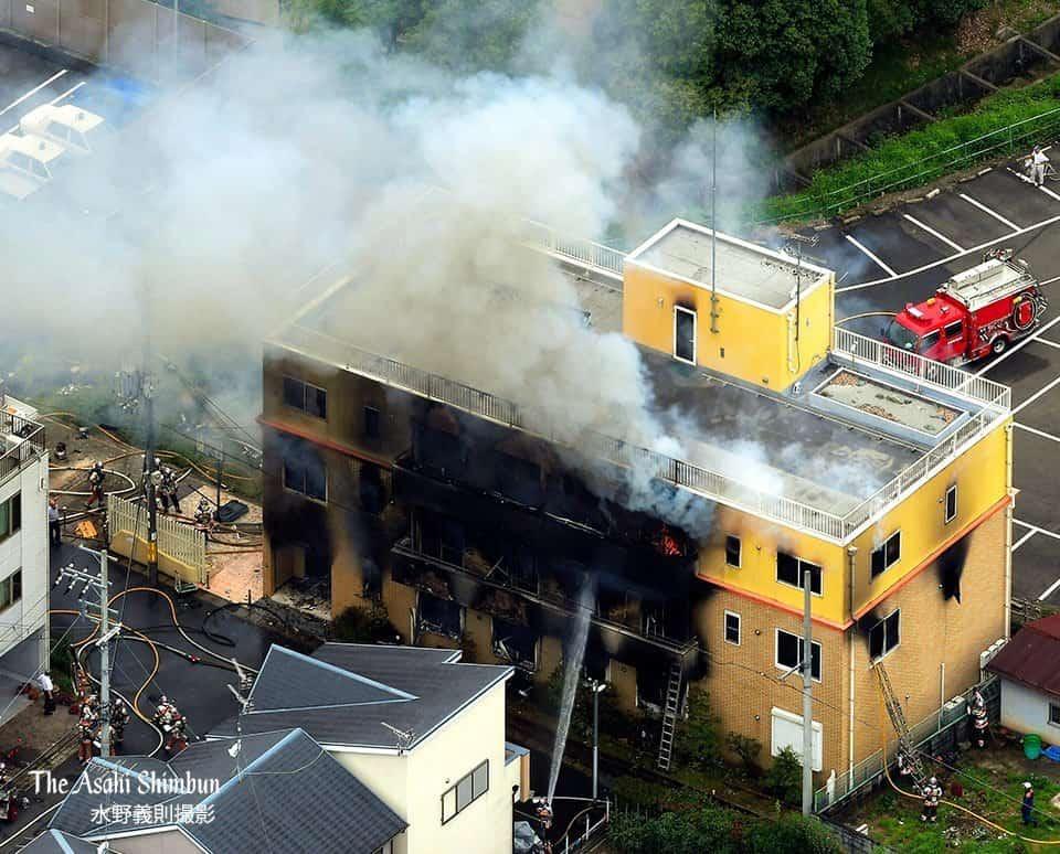 Un incendio en los estudios de Kyoto Animation deja varios heridos y 34 muertos