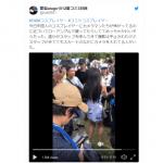 """Una cosplayer china llora por la """"agresividad"""" de los camarógrafos al realizarle upskirt"""