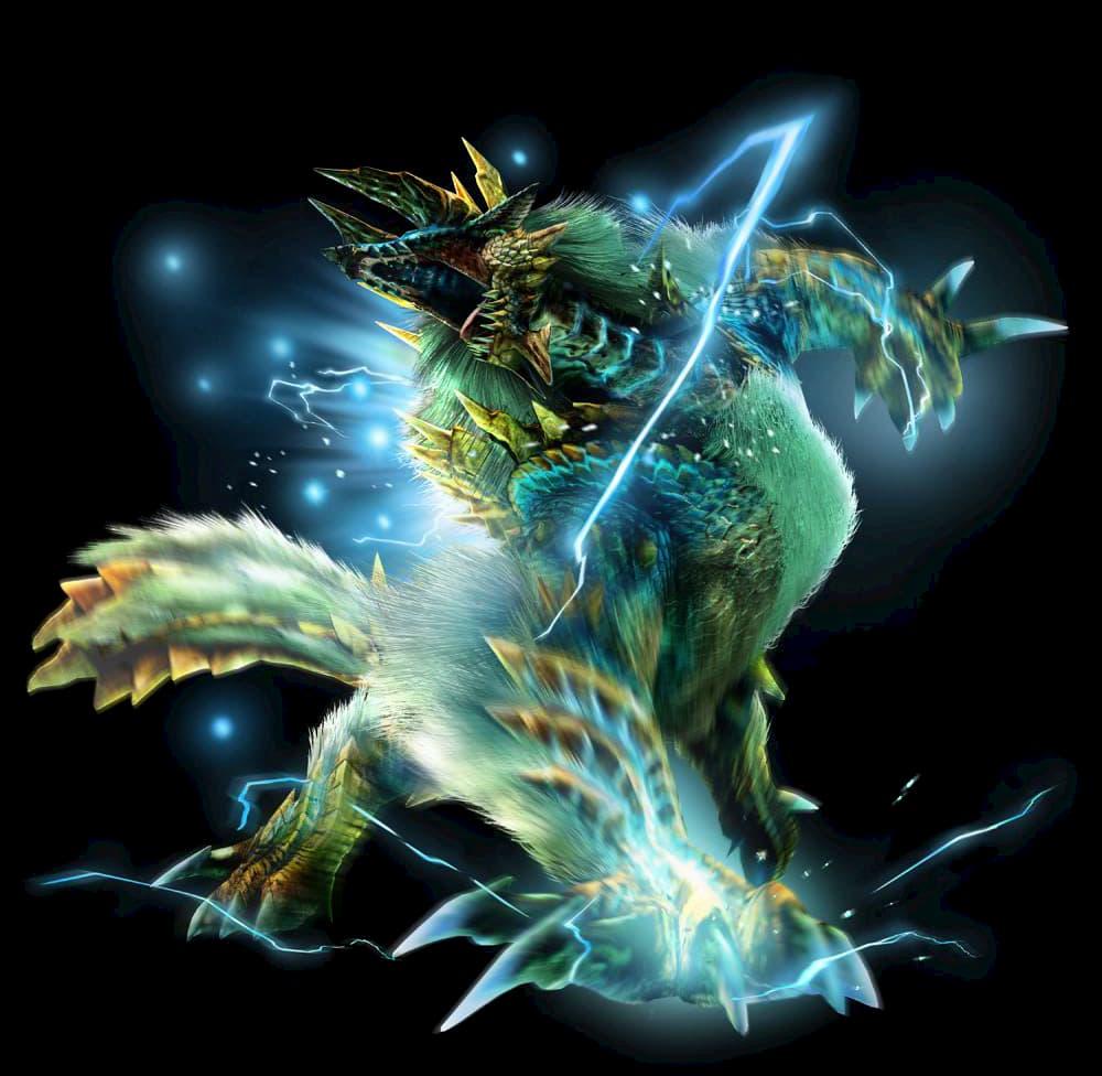 Dos archivos de música apuntan a que el Zinogre (Jinouga) estará en la expansión Iceborne de Monster Hunter World
