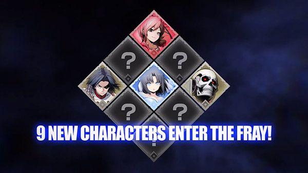 Los personajes restantes de BlazBlue Cross Tag Battle DLC 2.0 serán anunciados el 22 de septiembre