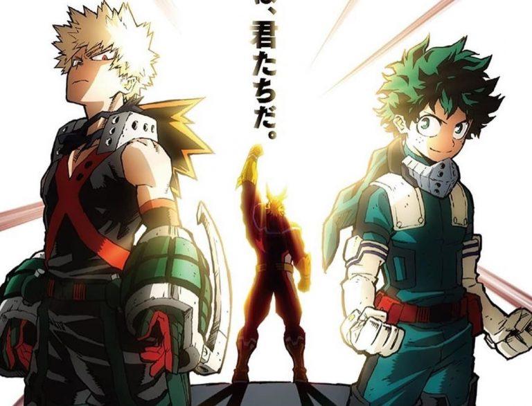 Nuevo PV de Boku no Hero Academia: -Heroes: Rising-con su tema principal de fondo