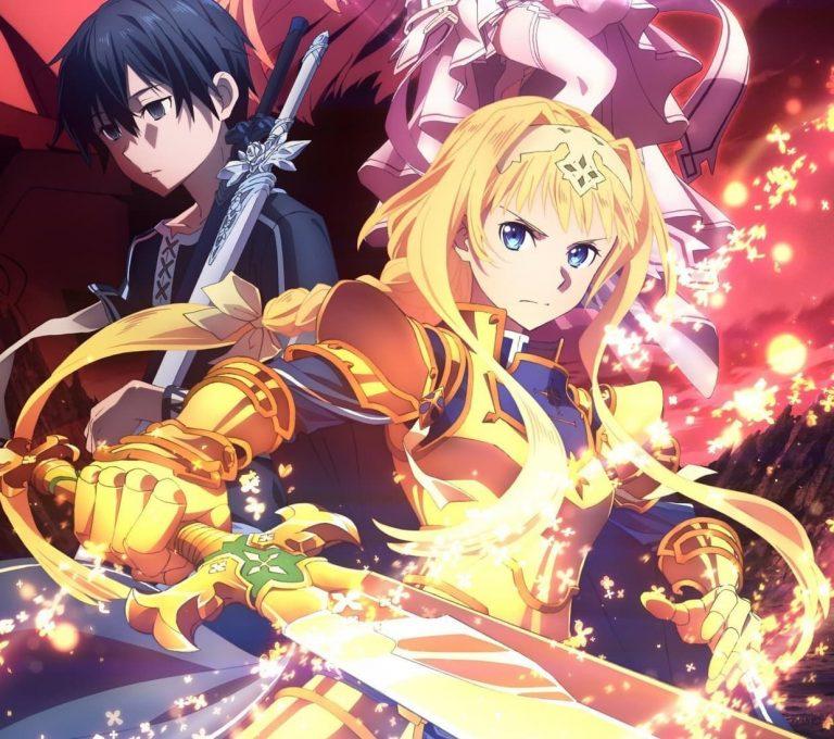 Revelan las fechas de estreno de Sword Art Online: Alicization UW, Hi Score Girl S2, Babylon y demás