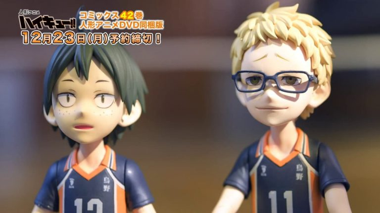 Haikyuu!! tendrá anime en stop-motion en 2020