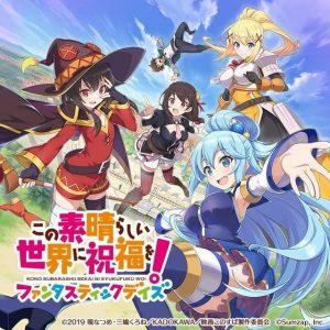 Anuncian un juego de Konosuba para smartphones