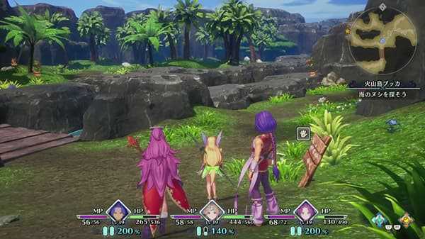 Gameplay de 14 minutos de Trials of Mana desde la TGS 2019
