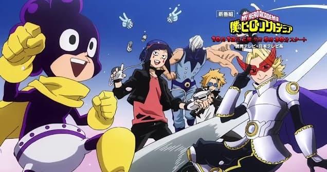 El primer episodio de Boku no Hero Academia 4 será un resumen