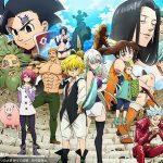 La tercera temporada de Nanatsu no Taizai tendrá 24 episodios