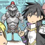 Seiya aparece al lado de la armadura de Goblin Slayer en una imagen especial