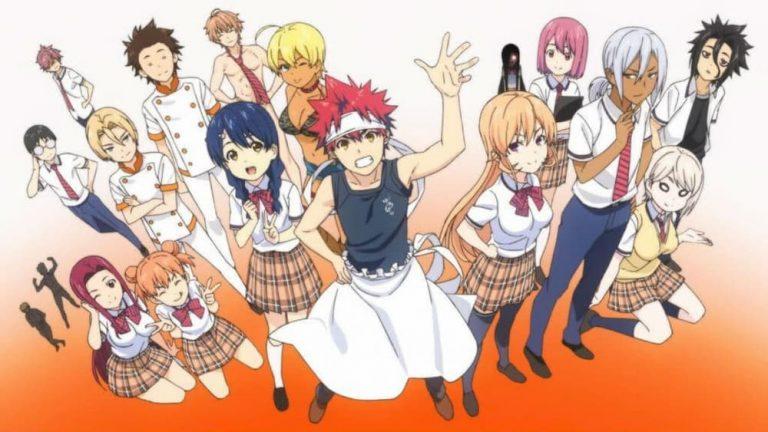 La cuarta temporada de Shokugeki no Soma tendrá 25 capítulos