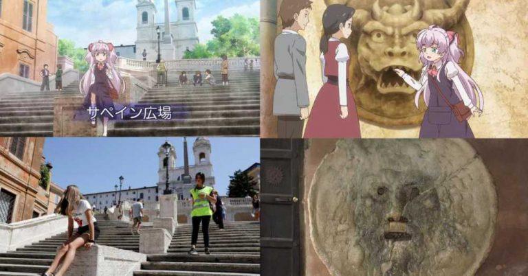 La loli de Watashi Nouryoku wa Heikinchi fue transportada a Italia