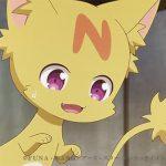 La mascota de Watashi Nouryoku wa Heikinchi es diferente en el anime