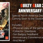 Guilty Gear 20th Anniversary Pack llegará a Norteamérica